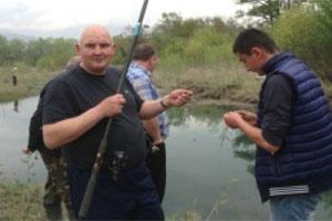 Рыбалка в Кахетии!